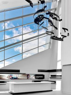 Sculpture in Motion: Porsche Experience Center by HOK | Projects | Interior Design