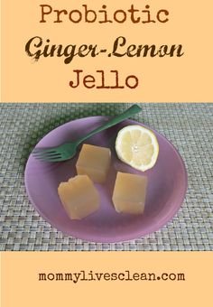Don't eat that Jell-o!!  Try this healthy homemade version instead.