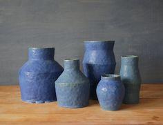Giselle Hicks: Antique Blue Vessels
