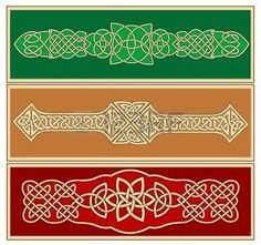Celtic ornaments and patterns for design and ornate photo