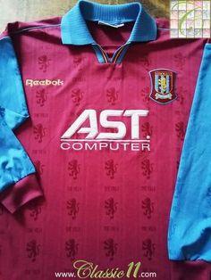 c98b8302933 1995/96 Aston Villa Home Football Shirt. (XL)