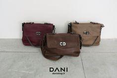 Scegli il tuo colore!  Disponibile in tutti i nostri punti vendita e su danishop.it  SHOPPER CATENA: http://goo.gl/0J7uMw #musthave #bags #nice #danishop