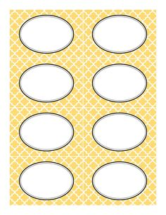 yellow+moroccan+tile+label+template.jpg 1,237×1,600 pixels