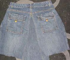Step-by-Step Instructions for Turning Your Jeans into a Denim Skirt - BEST Tutorial!