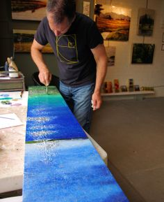 Watch artists work in the River Arts District in Asheville NC