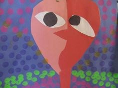 Pablo  Picasso faces (only requires construction paper--awesome project!)