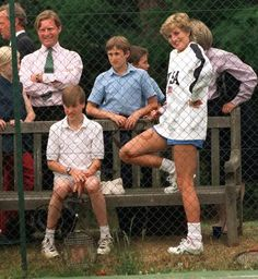 William with Diana