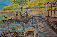 My Art. Crayon on paper An Interpretation.