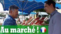 AU MARCHÉ  Apprendre le français avec Français avec Pierre Ferris Wheel, France, Fun, Travel, Videos, The South, Learn French, Walking, Stone