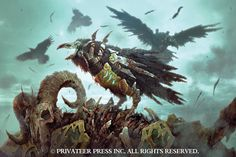 Social Media Coordinator, Valerie Herron, shares her 75pt Cryx army built for the new edition of WARMACHINE in today's Insider. CAW!  http://privateerpress.com/community/privateer-insider/insider-08-30-2016