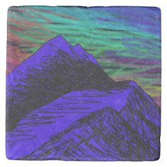let me be your sky marble coaster stone coaster