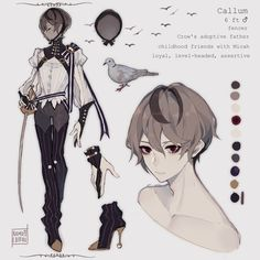 ✦ cami ✦ Character Drawing, Character Concept, Concept Art, Anime Kunst, Anime Art, Pretty Art, Cute Art, Art Reference Poses, Boy Art