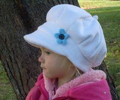 Love this warm yet  stylish fleece hat for  winter!