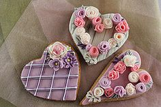 Pretty Assorted Valentine Cookies (bubolinkata)