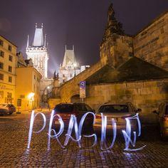 #Prague #LightCityLettering #Lettering