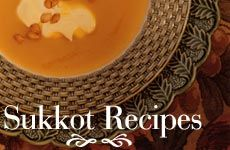 Here are some delicious Sukkot recipes with a Pacific Rim twist.