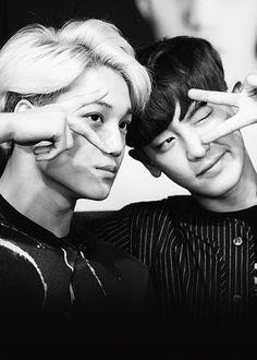 #Kai and #Chanyeol
