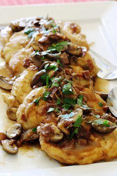 Saving room for dessert: Chicken Marsala