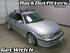 Rack Outfitters - Saab 9-3 5 Door Thule Traverse Square Bar Roof Rack '99-'03, $394.85 (http://www.rackoutfitters.com/saab-9-3-5-door-thule-traverse-square-bar-roof-rack-99-03/)
