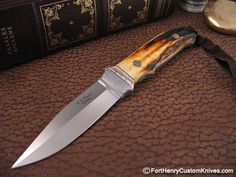 WD Pease – Stag Loveless City Knife $845