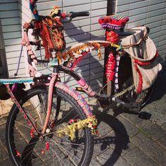 Stargirl's bike that she rides.