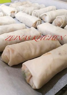 Vårrullar - ZEINAS KITCHEN 300 Calorie Lunches, Food In French, Meat Recipes, Vegetarian Recipes, Minced Meat Recipe, Austrian Recipes, Zeina, Filipino Dishes, Recipe For Mom