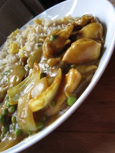 A Glug of Oil: Chinese Curry - Just like the takeaway!