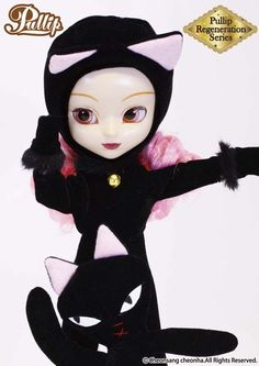 Pullip Regeneration Moon black cat Groove Fashion Doll in USA #GROOVE #DollswithClothingAccessories