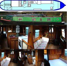 CAMELOT 1973 43FT TRAD- SOLD www.calcuttboats.com