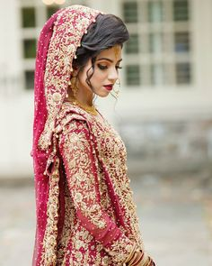 Pakistani Long Dresses, Pakistani Wedding Outfits, Bridal Outfits, Indian Outfits, Indian Gowns, Indian Bridal Photos, Bridal Pictures, Asian Bridal, Wedding Photos