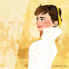 audrey yellow_small.png by Lissy Marlin