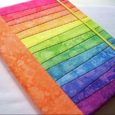 Rainbow Journal Cover