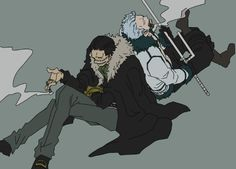Smoker / Sir Crocodile / One piece | Tumblr