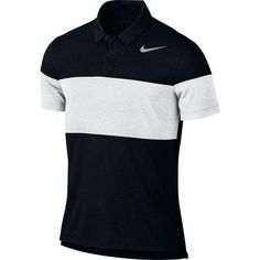 Nike Dry Transition Men's Slim Fit Golf Polo - Black