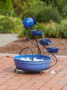 Komplett-Set: Gartenbrunnen »Keramikschalen« im Universal Online Shop