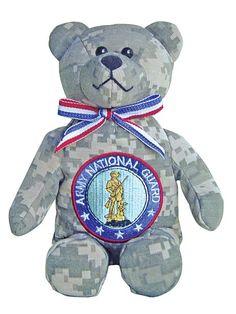 Army National Guard Stuffed Military Bear