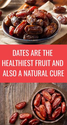 Dates are among the healthiest fruits we can consume, as they have potent medicinal properties that improve health in numerous different ways. HealthLine r Healthy Living Tips, Healthy Life, Healthy Eating, Natural Life, Natural Cures, Health And Beauty Tips, Health Tips, Vegan Facts, Healthy Fruits