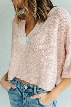 Daybreak Sweater in Rose by Free People