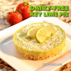 Dairy-Free Key Lime Pie