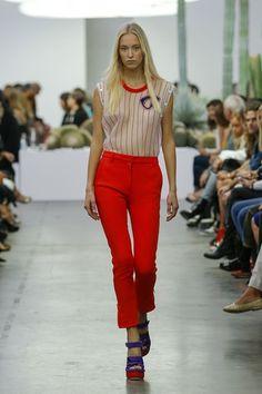 Iceberg Spring/Summer 2015 ready-to-wear #MFW #Milan #FashionWeek