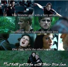 I love Clove and Cato! And Katniss and Peeta, but I'm still for CLATO! Always will choose Clato over Katniss and Peeta! Hunger Games Memes, Cato Hunger Games, Divergent Hunger Games, Hunger Games Fandom, Hunger Games Catching Fire, Hunger Games Trilogy, Clove Hunger Games, Katniss And Peeta, Katniss Everdeen