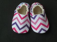 Buy Now Baby Shoes Baby Slippers Baby Girl Chevron Pink...