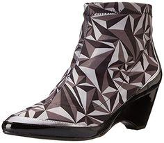 United Nude Women's Jura Rubber Boot, Crystal Mono/Steel/Black, 37 EU/7 M US UNITED NUDE http://smile.amazon.com/dp/B00QYV8KT2/ref=cm_sw_r_pi_dp_9OfUvb0GXK1B4