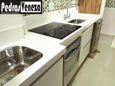 Mármores, Granitos e Eletros para Cozinha! Novidade Cubas Esculpidas!