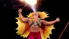 """Ricky """"The Dragon"""" Steamboat is a WWE Hall of Fame superstar and is widely considered one of the best wrestlers to ever step into a ring. He wrestled in what many call the greatest WWE . Ric Flair, Steamboats, Wwe News, Wwe Superstars, World Championship, Storytelling, Wrestling, Dragon, Human Figures"""