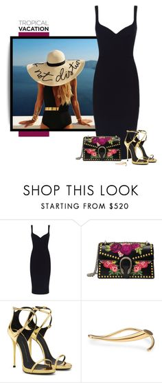 """no.268"" by nina-k-307 ❤ liked on Polyvore featuring Victoria Beckham, Gucci, Giuseppe Zanotti and Charlotte Chesnais"
