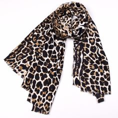 Leopard Printed Silk Scarves for Women Autumn and Winter Warm Womens Shawls and Wraps Silk Scarf Luxury Brand 2017 for Ladies