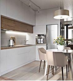 31 Modern Kitchen Concepts Every House Prepare Needs to See Küche Kitchen Room Design, Luxury Kitchen Design, Contemporary Kitchen Design, Luxury Kitchens, Living Room Kitchen, Home Decor Kitchen, Rustic Kitchen, Interior Design Kitchen, Home Kitchens