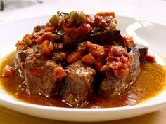 This is sooo good, we will make again & again G. Garvin's Short Ribs from CookingChannelTV.com