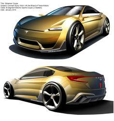 Transportation Design: Streamer Coupe concept